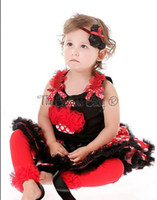Summer baby swing sale - Hot Sale Children s Outfits baby suits Girls bow sleeveless T shirt Dot tutu skirt big swing Princess suit