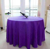 Round table cloth - Hotel restaurant tablecloth restaurant table cloth red table linen jacquard cloth round table cloth