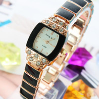 Wholesale 5PCS Mix color high quality ladies fashion watches gem crystal rhinestone sf136936