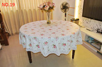 Wholesale Special offer many plastic tablecloth with thick PVC waterproof and oil disposable table cloth lt lt lt gofuho