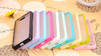 Plastic free sample mobile phone - For Samsung Galaxy s2 case i9100 case Jelly colors TPU PC material Charming design s2 i9100 mobile phone shell