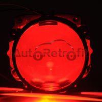 headlight projector lens - 100Pcs Bright LED Devil Eyes LED Demon Eyes Module For Projector Lens Headlight Retrofit Projector Lens Devil Demon Eyes
