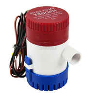 Wholesale New V A Submersible Pump yacht drainage Fishing Marine Boat Water Bilge Pump GPH LPH TK0995