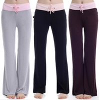 Wholesale Summer Yoga Pants Casual Thin Women Bloomers Trousers Sports Yoga Pants Fitness Pants