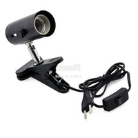 Lights Holders LED <100 LM Hot Selling Light Lamp Holder Stand for Reptile Ceramic Infrared Heat Emitter EU Plug TK0792