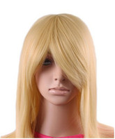 Brazilian Hair Ombre Color Synthetic Hair Cool2day Blonde Heat Friendly Long Hair Wig lolita Animation Cosplay Wig party Wig JF010993