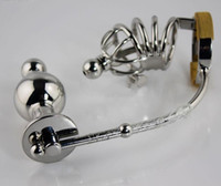 Wholesale HOT SALES Latest The Tight Squeeze Impaler Cage Anal Plug Locking Male Chastity Device Bird Cage