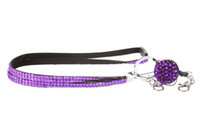 Wholesale 2016 Hot Fashion Mixed Color Sparkle breakaway crystal lanyard with badge reel