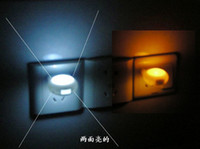 Wholesale Led Small Night Lights EU Plug In Baby Socket Lamps Sensor Night Light Pass CE RoHS