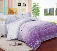 Wholesale Drop Shipping Home textile Reactive Print bedding sets luxury include Duvet Cover Bed sheet Pillowcase King Queen Twin size