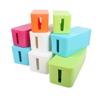 Wholesale Wire Storage Box Cable Winder Plug Seat Cover Socket Storage Boxes Baby Safety Household Necessities Of Life