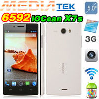 Wholesale Iocean X7S x7 HD Smartphone Real Octa Core MTK6592 Inch IPS FHD Screen x1080p Android GB GB Gesture Sensing OTG G GPS MP