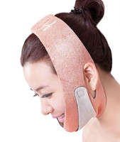 Wholesale new arrival anti double chin thin face mask skin lifting mandible firming chin slim face masks v line face shaping bandage facial free ship