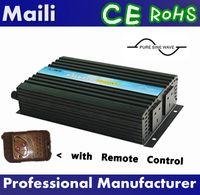 12v 220v pure sine wave inverter - DC V V V to AC V V V V W Pure Sine Wave Power Inverter with Remote Controller