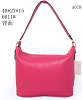 Wholesale Beautiful rose color shoulder bags women handbags