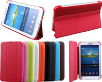 Wholesale Slim Hard Case BOOK Cover For Samsung Galaxy tab Lite T110 T111