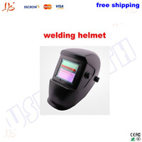 Wholesale Freeshipping solar energy auto darkening welding helmet welding mask safe and high quality