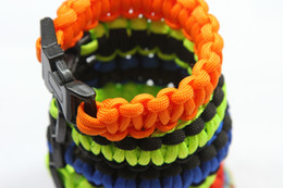 New Cobra PARACORD BRACELETS KIT Military Emergency Survival Bracelet 550 King mix colors custom Bracelet paracord 550