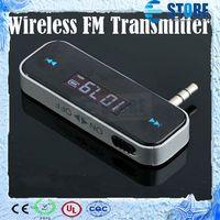 Wholesale Wireless mm Car FM Transmitter For iPod iPad iPhone S Galaxy S2 S3 HTC wu