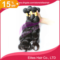 Wholesale 15 OFF DHL Brazilian Virgin Remy Human Hairs Body Wave Weft Weave Elites Hair Queen Hair products g pc BH503
