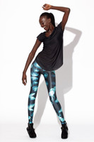 Foot Cover Women Leggings Fashion High Quality Digital Print Jelly Fish Leggings Pants Free Shipping