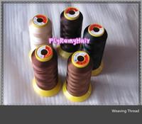 Wholesale Freeshipping Thread of Weaving High Intensity Polyamide Nylon Thread Hair Extension Tools