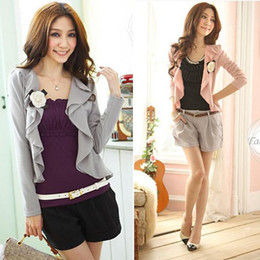 Wholesale sweaters Sping Qualities Women All Matched Long Sleeved Open Front Cardigan L034728