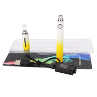 Electronic Cigarette Set Series evod 50pcs by DHL 2014 new MT3 Evod Gradient Kit Blister Card Evod Gradient ego battery E Cigarettes Package atomizer Mt3 EVOD KITS