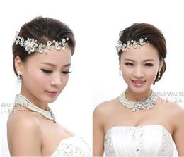 Wholesale 2014 In Stock Bridal Rhinestone Jewelry Necklace Earring Set