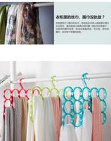 Wholesale 2014 Latest Design Modern Style Clothes hanger Multi use Scarf holder Towel Storage Holder Belt Rack