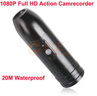 Wholesale F7 Sports Action Camera Waterproof Camcorder Full HD P M Waterproof Degree Bullet Design Portable Outdoor Helmet DVR