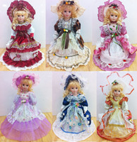 15 Years+ baby doll patterns - 18 inches cm Victorian Porcelain Dolls china doll Porcelain doll Chyna Girl Girl s gift Pattern Assortments Color Box