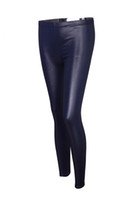 Leggings Skinny,Slim Capris Sexy Women Leggings Faus Leather Pants for Spring Free Shipping