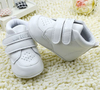 Unisex Summer Cotton 23%off!Drop ship White baby shoes,,soft bottom toddler shoes,casual sports walker shoes,tall waist children shoes baby wear!9pairs 18pcs.C