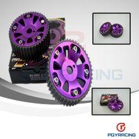 Wholesale PQY STORE Adjustable Cam Gear pair pc FOR Toyota S GTE MR2 CELICA CALDINA