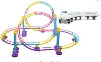Precio de Trains-Nueva súper pista de montaña rusa modelo de tren eléctrico juguetes de pista para niños
