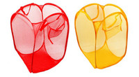 Wholesale Laundry Hamper Foldable Wash Bag Toy Clothes Basket Holder