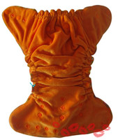 cloth diapers baby - 2014 High quality diaper Organic Bamboo Velour fitted baby Cloth diaper with insert Nappy