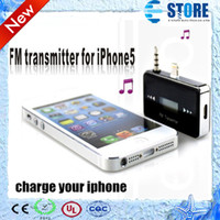 Wholesale Multifunction Wireless mm Car FM Transmitter For iPhone Fashion style and newest wu