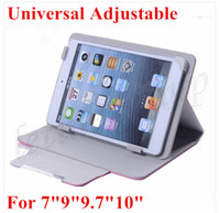 with cover and stand apad wholesale - Cheap PU Leather Pouch case for inch tablet inch inch inch inch tablet pc epad Apad Universal case Adjustable New style