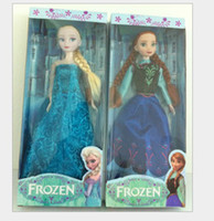 Multicolor Plastic Pendant EMS Frozen Princess Anna Elsa Dress Action Figure Children Birthday Gifts Cartoon Anime Movies Accessories Kids Toys Snow 40pcs lot D2243