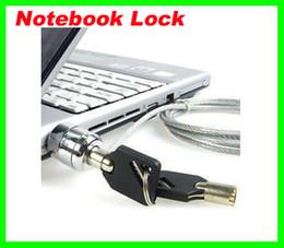 Prix le plus bas GRATUIT FEDEX 180pcs / lot PC portable Notebook chaîne câble de sécurité Key Lock livraison gratuite