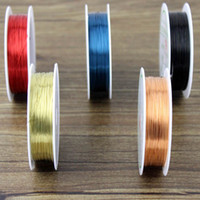 Cord & Wire Valentine's Day Craft Wire 3 Meter DIY Bead Wrap Jewelry Copper Colored Craft Wire