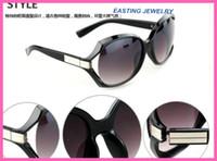 Wholesale Big Frame Fashion Women Sunglass Vintage Cheap Plastic Brand Designer Oversize Sunglasses