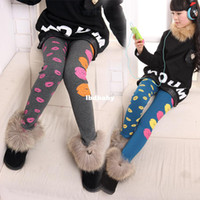 Casual Pants Unisex Spring / Autumn New 2014 Children's clothing female child legging child plus velvet basic boot cut jeans baby trousers