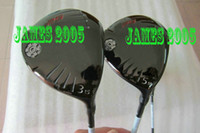 Wholesale Golf Golf Fairway Woods wood and wood Graphite Shafts Free cover Golf Clubs
