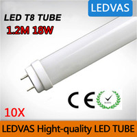 Wholesale LEDVAS W T8 LED Tube SMD LM Light Lamp Bulb mm m Ft AC85 V Lights Led Lighting Year Warranty