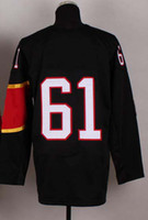 Ice Hockey Men Full 2014 Sochi Winter Olympics Jerseys Men`s #61 Rick Nash Red Ice Hockey Jerseys Mix Order