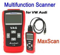 Wholesale OBD OBDII OBD2 Scantool Autel Car Diagnostic Tool Tools Code Reader MaxiScan VAG405 Auto Scanner VW AUDI SKODA Free DHL FEDEX