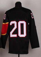 Ice Hockey Men Full 2014 Sochi Winter Olympics Jerseys Men`s #20 John Tavares Red White Black Ice Hockey Jerseys Mix Order